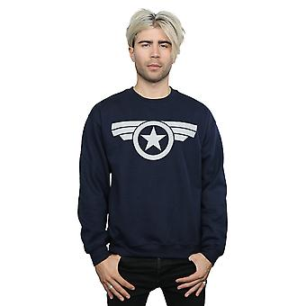 Marvel Men's Captain America Super Soldier Sweatshirt
