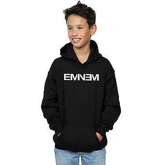 Eminem Boys Plain Text Hoodie