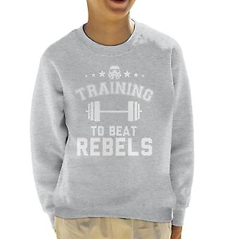Originele Stormtrooper opleiding tot Beat rebellen Kid's Sweatshirt