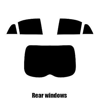 Før kutte vindu nyanse - Mitsubishi Outlander - 2012 og nyere - bak windows