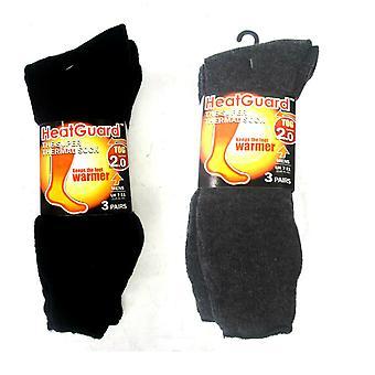 Mens HeatGuard Super Thermal Sock Pack of 3