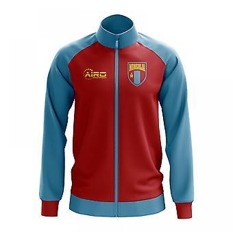 Mongoliet konceptet fotboll Track Jacket (röd)