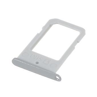 Samsung Galaxy S6 Edge G925 OEM SIM card holder Silver