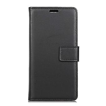 Nokia 5.1 Portemonnaie Tasche-schwarz