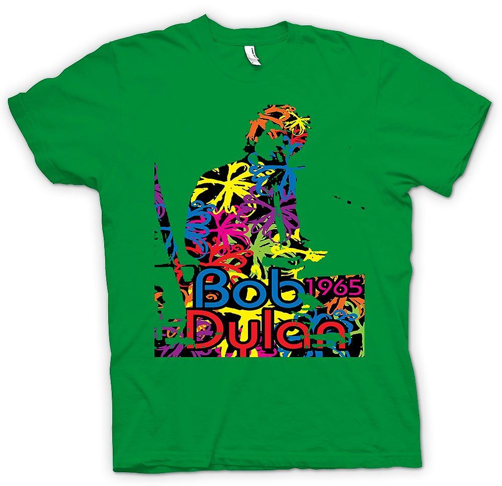 Mens T-shirt - Bob Dylan 1965 - Psychedelic