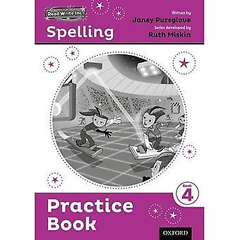 Odczytu i zapisu Inc. pisowni: Praktyka książki 4 5 szt