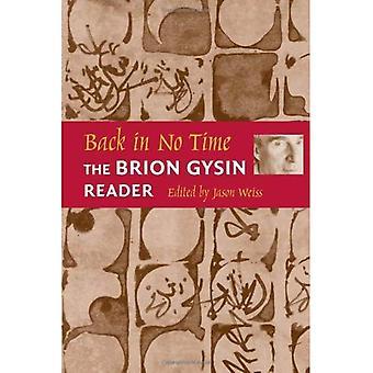 Tillbaka på nolltid: Brion Gysin läsaren