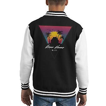 Dragon Ball Z Kame huis Sunset Kid's Varsity Jacket