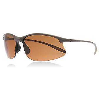 Serengeti 8450 geschliffen dunkel braun geschliffen dunkel braun Maestrale Wrap Sonnenbrillen polarisiert Objektivgröße Kategorie 3 67mm