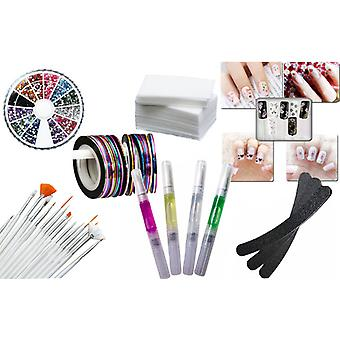 Store ★/manicure kit begyndere