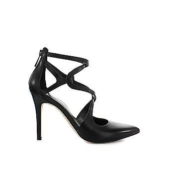 Michael Kors sandali di cuoio nero di Catia