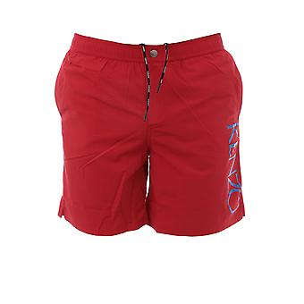 Kenzo Red Polyester Trunks