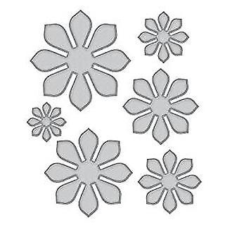 Spellbinders Designer Series Succulent & Mum Flower Dies (S5-335)