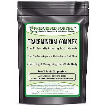 Ionic Trace Mineral Complex - Over 72 Naturally Occurring Ionic Alkalizing Minerals - 16% Ionic Mg