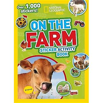 National Geographic Kids on the Farm Sticker Activity Book - Over 1 -0