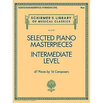 Selected Piano Masterpieces Intermediate Level Piano Book - 978149508