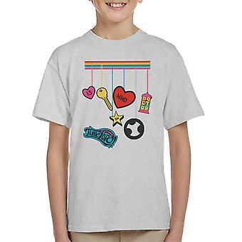 Doctor Who Future Time Lord Rainbow Drop Kid's T-Shirt