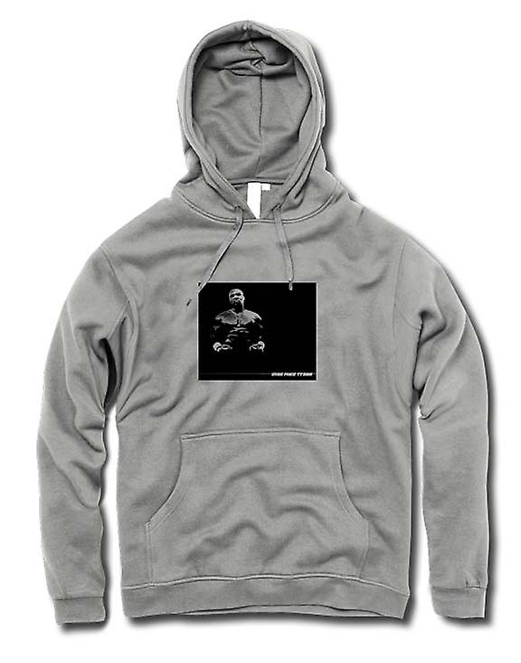 Mens Hoodie - Fer à repasser - Mike Tyson - Pop Art