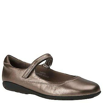 Walking Cradles Womens Jane Leather Leather Closed Toe Mary Jane Flats
