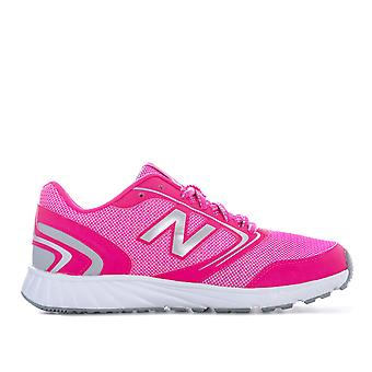 Junior Girls New Balance 455 Trainers In Pink