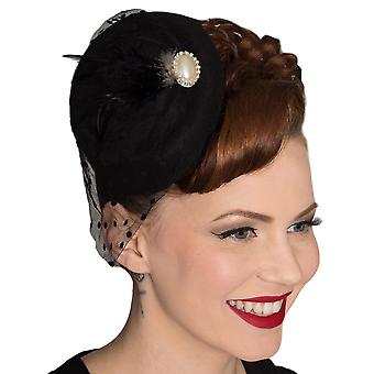 Dancing Days Black All A Dream Fascinator