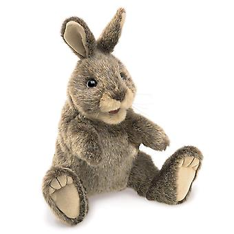 Hand Puppet - Folkmanis - Rabbit Small Cottontail New Toys Soft Doll Plush 3130