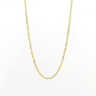 Eternity 9ct Gold 20'' Curb Chain
