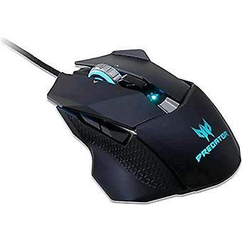 Acer predatore 510 mouse ottico gioco 8 tasti 16.000 dpi nero/ blu