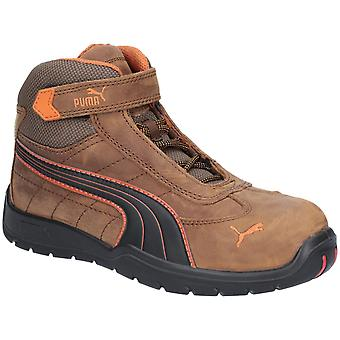Puma Safety Mens Indy Mid Mens Velcro Safety Boot