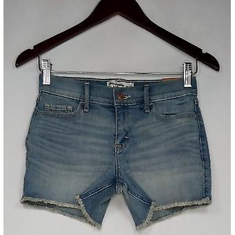 Nicht identifizierbare Hartwaren Bekleidung Kinder Shorts Stretch Hellblau