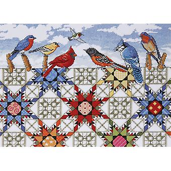 Feathered Stars Counted Cross Stitch Kit 12