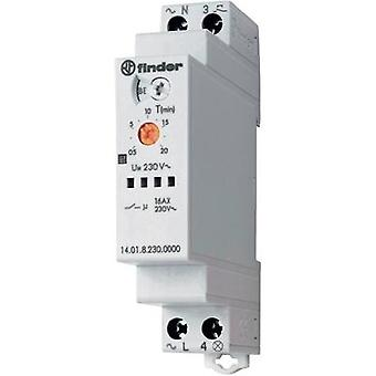 Staircase multiway switch Multifunction 230 Vac 1 pc(s) Finder 14.01.8.230.0000 ATT.FX.TIME-RANGE: 30 secs - 20 min 1 ma