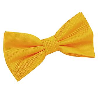 Sunflower Gold Solid Check Bow Tie