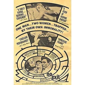 No Exit Movie Poster (11 x 17)