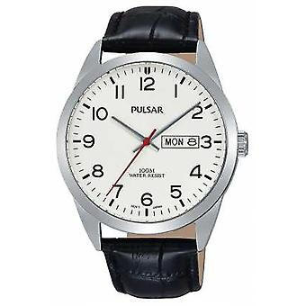 PulsarGentsClassicBlackLeatherPJ6065X1 Watch