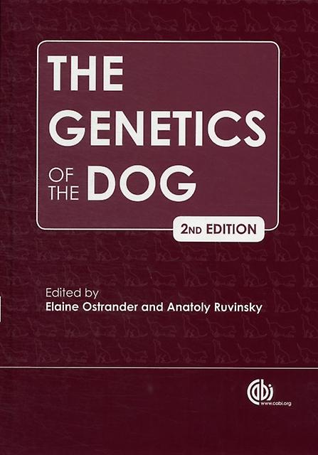 The Genetics of the Dog (Hardcover) by Ostrander Elaine A. Ruvinsky Anatoly