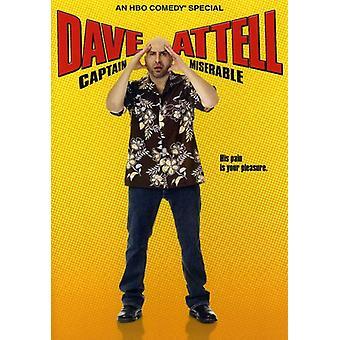 Dave Attell - kaptajn Miserable [DVD] USA import