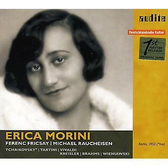 Erica Morini - importación de USA de Erica Morini juega Tchaikovsky, Tartini, Vivaldi y Kreisler [CD]