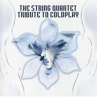Tribute to Coldplay - String Quart Tribute to Coldplay [CD] USA import
