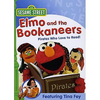 Sesame Street - Elmo & Bookaneers [DVD] USA importerer