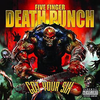Fem Finger død Pu - fik din seks (Ex) [CD] USA import
