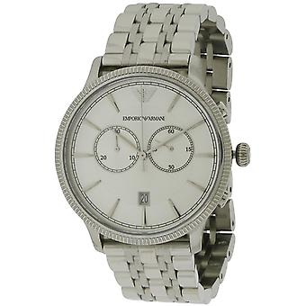 Emporio Armani Classic RVS Mens Watch AR1796