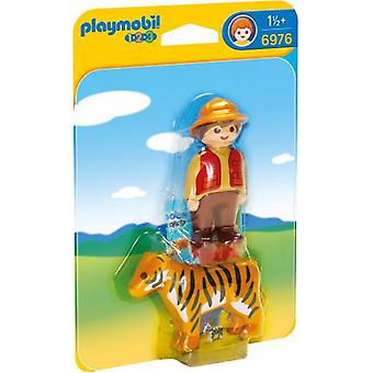Playmobil 6976 Gamekeeper with Tiger (Toys , Preschool , Playsets , Dolls)