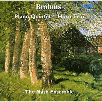 Nash Ensemble - Brahms: Klaver kvintet; Horn Trio [CD] USA import