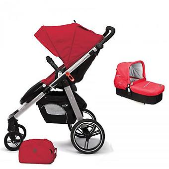 Casualplay Loop Chair With Pram Cot and Bag