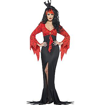 Kobiety stroje zła królowa Panie kostium halloween