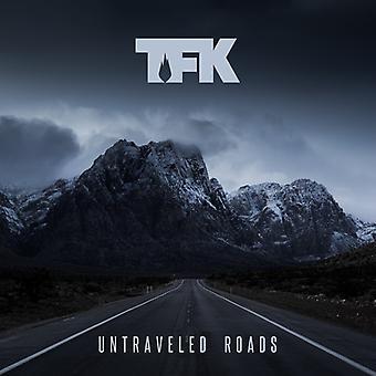 Tusinde fod Krutch - Untraveled veje [CD] USA importerer