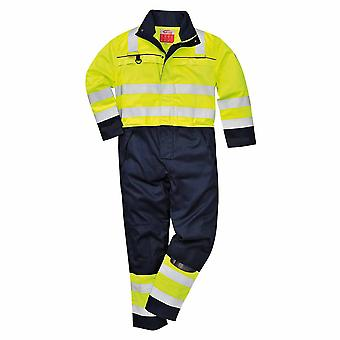 Portwest - Hi-Vis Flame Resistant Workwear Multi-Norm Coverall Boilersuit
