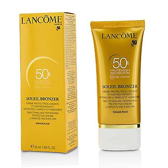 Lancome Soleil Bronzer Smoothing & Refreshing Protective Cream SPF50 - 50ml/1.69oz