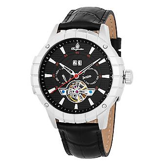 Burgmeister BM342-122 Palmdale, Gents automatic watch, Analogue display - Water resistant, Stylish leather strap, Classic men's watch
